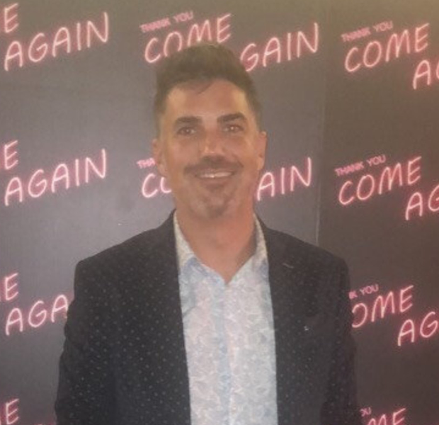 Nic Furlong on the red carpet for the premiere of his latest movie, 'Thank You, Come Again'.