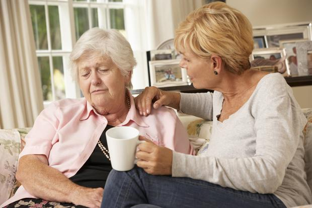 Dementia can place a big strain on families
