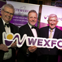 Tony Larkin, director of Services, Wexford County Council, Michael Londra, Liam Griffin and Cathaoirleach Michael Sheehan