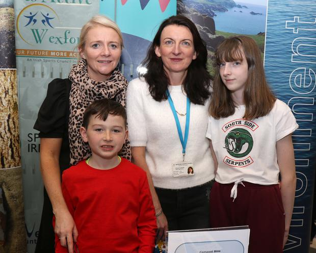Caroline Sinnott (Wexford Co. Council), Aaron Sinnott, Cliona Connolly (Wexford Co. Council) and Ina Mullen at the festival