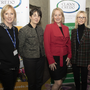 Guest speakers Eileen Dake, Wexford Local Development (WLD); Amanda Byrne, county development officer, Wexford County Council; Jennifer Hennessy, Clan Credo; Mary Dunphy, WLD; and Liz Roche, fundraising consultant