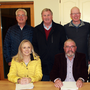 The St Aidan's Services board of management,front row: Eleanor McKiernan, chairman Pat McCarthy and CEO Maura Kelly. Back row: Diarmuid Devereux, Patsy Asple, Vincent Kearney, Pat O'Shea and Fintan O'Donoghue