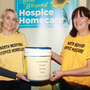 Carina McEvoy and Mari Gregan at the charity open day in the Palms Health and Wellbeing Centre in support of North Wexford Hospise Nursing Trust