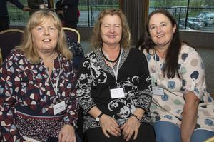 Catherine Keane (Heritage Tourism Wexford), Breda Cahill (Bree Community Development) and Betty Kelly (Bree Walking Trails)