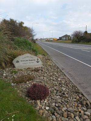 Entrance to Rosslare Harbour