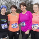 Claire Brownrigg, Fran O'Hagan, Emer Kelly and Ciara Kelly from Ferns at the event