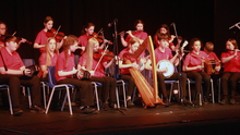 Bannow CCÉ, All Ireland under 15 Grupai Ceoil champions, perform at Gorey Little Theatre