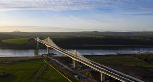 The Rose Fitzgerald Kennedy bridge outside New Ross