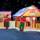 The elves in Santa's North Pole Experience on Wexford Quay this Christmas