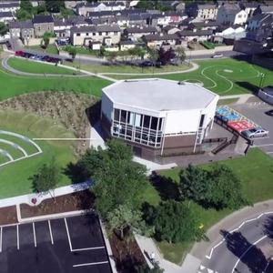 The An Clog Mor Library Park in New Ross
