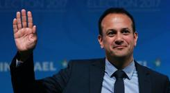 Fine Gael is up five points to 30pc