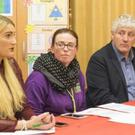 Management at an Educate Together meeting in County Wexford recently