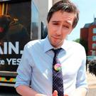 Simon Harris and the FG Government supported a Yes vote in the Repeal the Eighth vote