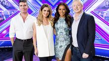 The judges for X-factor.