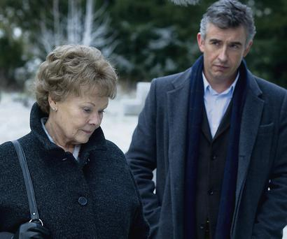 Dame Judi Dench and Steve Coogan in Philomena.