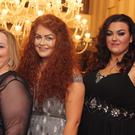 X-Factor singer Mary Byrne, Mikaela Bonnor and Kayleigh Cullinan from The Voice of Ireland