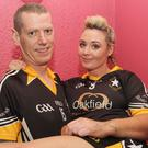 Alan Vines and Jenny O'Brien at Strictly Fun Dancing in aid of the Riverchapel Community Complex