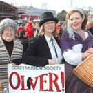 Gorey Musical Society members Carmel Byrne, Thelma Rath and Eileen McCabe