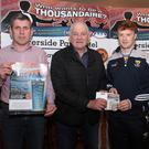 Launch of the Davidstown Courtnacuddy 'Who Wants To Be A Thousandaire' (from left to right); Robert Hassett, Mickory Stafford Club Chairman, David Dunne and Alan O'Connor