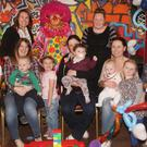'Mischief Makers' parent and toddler group relaunch party with Giggles the Clown and staff Joleen Kinsella and Sandra Molloy