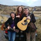 Noel Shine, Mary Greene and their daughter Ellie of Greenshine who will perform with local duo Lynda Cullen and Suzi O'Neill this Friday night in Katie Daly's