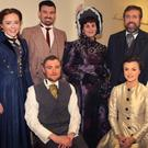 The cast. Front: Tim Connaughton and Ellie Willoughby. Back: Máire Doran, Gary Stephens, Anne Sheridan, Joe Sinnott and Jane Kinsella.