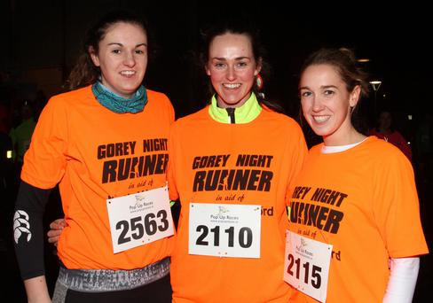 Laura Warren, Alex Donohue and Frances Doran from Buffers Alley