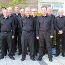 Gorey's Men's Choir. (Photo by Terry Loughran)