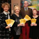 Karen Lynott, Lorraine Dowling, John Whelan, Mary Gallagher and Betty O'Brien at the launch