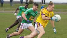 Wexford's Sean Ryan gets away from Westmeath's Jack Smith