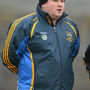 Wexford Senior football boss David Power who will have his first competitive fixture on Sunday.