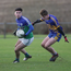 Glynn-Barntown's Shane Doyle looks to evade Ben Whitty of Gusserane O'Rahilly's