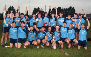 The celebrations begin for St. Anne's after Saturday's success in St. Patrick's Park, Enniscorthy