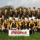 The Adamstown Minor footballers before their shield success in Taghmon on Saturday last