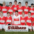 The Fethard squad before Thursday's victory in Rathangan.