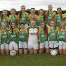 The all-conquering Clonee team before Saturday's final