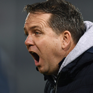 Davy Fitzgerald in full voice during Saturday's defeat to Tipperary in Semple Stadium, Thurles