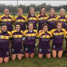 The Wexford squad before Sunday's heavy loss in Toomebridge