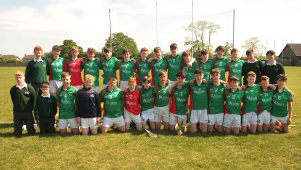 The successful Gorey Community School squad after the Marty Barrett Cup final