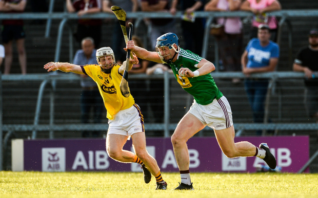 David Dunne tries to stop Westmeath full-back Tommy Doyle during Saturday's preliminary quarter-final win in Mullingar