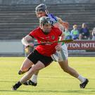 Conor Goff (Oulart-The Ballagh) gets away from Glynn-Barntown's Michael Doyle in Friday's final