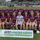 The victorious Wexford ladies' football team, Leinster Intermediate championship winners for the first time since 2007