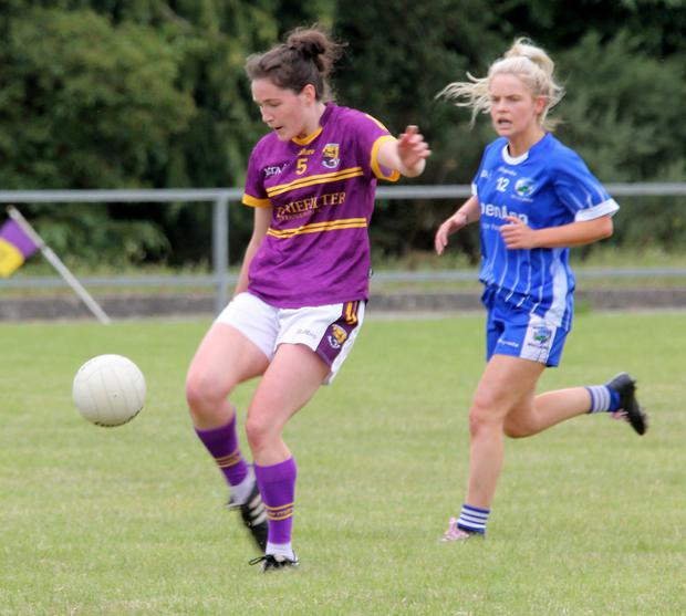 Clara Donnelly contributed a point from her wing-back berth