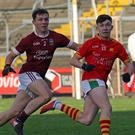 Mikey Coleman (St. Martin's) and Darragh Pepper (Starlights) are set to lock horns once again for the first time since the Senior football final of 2017