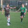 Aisling Frawley on the ball for Wexford Youths Women in their defeat to Peamount United