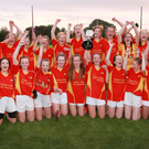 Davidstown-Courtnacuddy celebrating their county title success