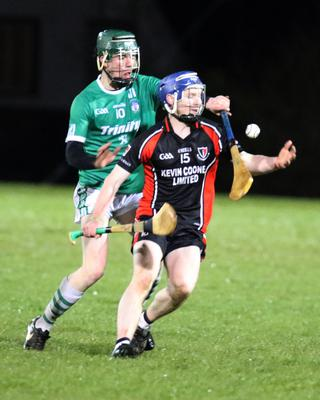 Billy Dunne (Oulart-The Ballagh) and Liam Flood (Cloughbawn)