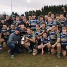 The Gorey squad celebrating their South-East Cup success