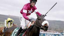 Caim jockey J.J. Slevin, who made a good start to the new decade
