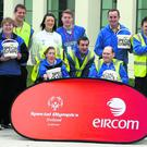 Pictured are Special Olympics athletes and coaches from St Aidan's in Wexford.